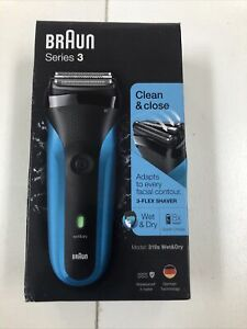 BRAUN SERIES 3 310S WET & DRY ELECTRIC SHAVER - NEW Fast Free Ship!