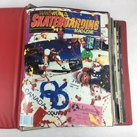Rare Vintage Transworld skateboarding Magazine Lot of 11 Issues 87-88 Volume 5-6