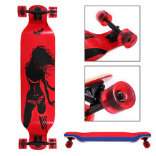 Longboard Complete 41 x 9.5in. Cruiser Speed skateboard Downhill Canadian Maple