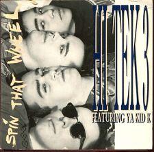 HI TEK 3 FEATURING YA KID K - SPIN THAT WHEEL - CARD SLEEVE 3 INCH 8 CM CD MAXI