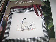 Playful Kitten TNS Cross Stitch Collector's Series pattern