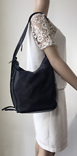 Tokio Yoshikawa Black Leather Bag, Purse