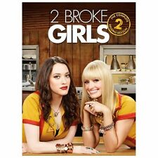2 Broke Girls: The Complete Second Season (DVD, 2013, 3-Disc Set)