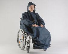 Orgaterm Regencape Regenponcho Senior mit Arm und Kapuze für Rollstuhl