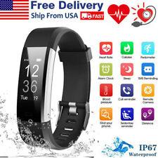 Waterproof Smart Watch Heart Rate Monitor Tracker Blood Pressure Fitness Sports