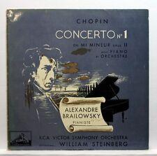 BRAILOWSKY, STEINBERG - CHOPIN piano concerto EMI FALP 145 orig LP FR EX