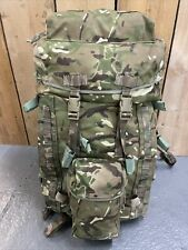 British Excellent Army Issue Infantry Bergen Rucksack MTP PLCE 100Lt Short Back