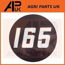 Massey Ferguson 165 Tractor lado Bonnet Insignia Medallón Emblema Decal Sticker