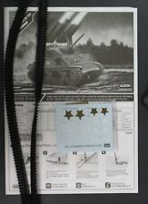 """ACADEMY 1/35 Scale M4A3 SHERMAN  """"Calliope"""" Tracks & Decals from Kit No. 13294"""