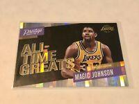 2017-18 Panini Prestige Basketball Horizon Insert - Magic Johnson - Lakers