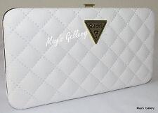 Guess Jeans Wallet Credit card Holder Handbag Purse Hand Bag Coin Hard Case NWT