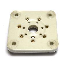 Cerámica tubos-versión septar/tube socket, f. 6c33 y muchos otros
