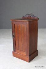 Walnut Edwardian Antique Cabinets