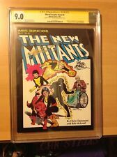 Marvel Graphic Novel #4 CGC 9.0 SSX2 1st appearance of The New Mutants