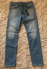 NWT Men DIESEL JEANS BUSTER Slim Fit Tapered Light Wash 28x32 Fit Like 30 $188