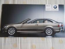 BMW 3 Series Coupe & Cabrio Edition brochure 2004 Ed 2 German text