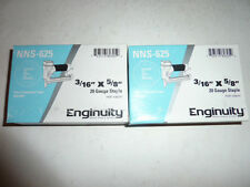 """enginuity paslode 3/16"""" crown X 5/8"""" 20 Guage Galvanized Staples box of 10000"""