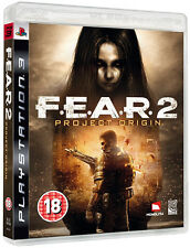 Fear 2: Project Origin ~ PS3 (in Great Condition)
