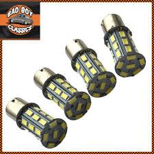 4x 1156 BA15S 27 LED 5730SMD Turn Signal Indicator Brake Tail Light Bulbs White