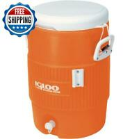 5 Gallon Heavy Duty Beverage Water Cooler Pour Dispenser Igloo Sports Work Party