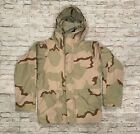 US MILITARY COLD WEATHER PARKA DESERT CAMOUFLAGE TENNER IND. SMALL. REG.