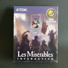 Les Misérables interaktive TDK Musical 2 CD ROM win95&nt MacOS 7.5 selten Vintage