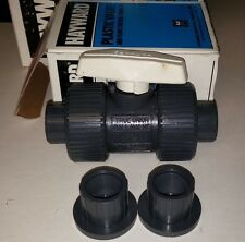 Hayward TB10050ST Plastic Valve - NEW 1/2 Inch PVC True Union Ball Valve
