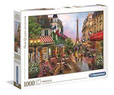 DAVID MACLEAN - FLOWERS IN PARIS - Clementoni Puzzle 39482 - 1000 Teile Pcs.