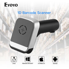 Eyoyo Wired & 2.4G Wireless Barcode Scanner Bar Code Scan for POS Smartphone IOS