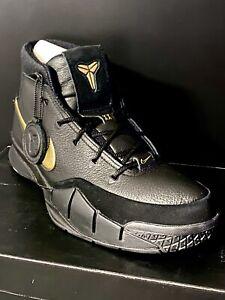 Nike Air Kobe 1 Protro DS Size 13 Bryant Fade To Black Mamba Game 4/13/18 Mag