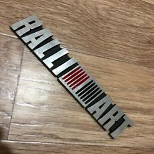 "Mitsubishi Ralliart Car Racing Decals Sticker Reflective Light 1.25x5.25/"" RGN"