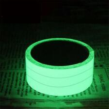 Glow In The Dark Luminous Fluorescent Night Self-adhesive Safety Sticker Tape WC