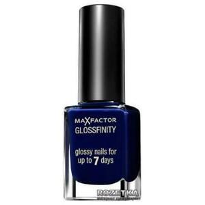 Max Factor Glossfinity Nail Polish 135 Royal Blue Brand New