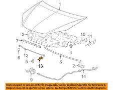 GM OEM Hood-Support Prop Rod Holder Clip Clamp 22712792