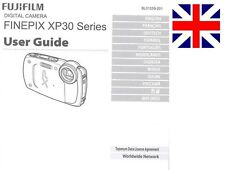 Fujifilm finepix xp30 série appareil photo numérique original instruction manual