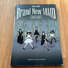 Free Shipping BAND-MAID Brand New Maid Score Book Photos How to play Used Japan