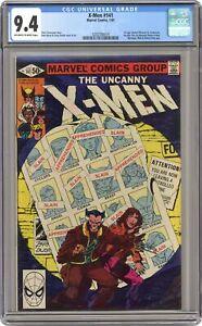 Uncanny X-Men #141 CGC 9.4 1981 0292590014 1st app. Rachel Summers
