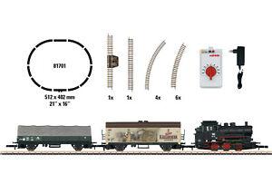 "Märklin 81701 Spur Z Startset ""Güterzug"" 230 Volt mit Dampflok BR 89#NEU in OVP#"