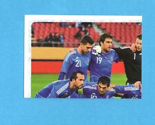PANINI-EURO 2012-Figurina n.80- SQUADRA/TEAM 1/4 - GRECIA -NEW-WHITE BOARD