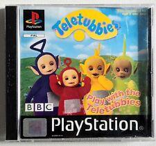 Spielen mit den Teletubbies-ps1 Sony Playstation One Spiel-PAL. Versandkostenfrei