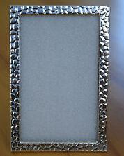Fotorahmen Bilderrahmen Metall Rahmen silberfarbig 10 x 15 cm