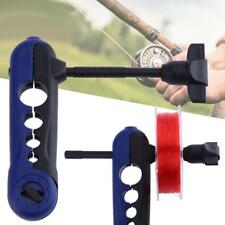 Universal Fishing Line Spooler System Works on Any Size Rod  for Bobbin Reel
