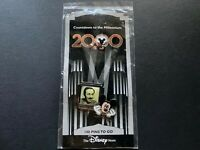 DS Countdown the Millennium Series #101 Walt Disney and Mickey Retired Pin 417