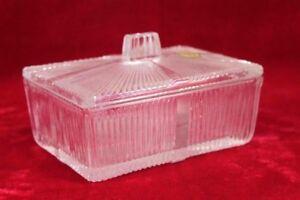 Glass Box Old Vintage Antique Rare Home Decorative PI-46