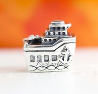 """Authentic PANDORA """"All Aboard """" Sterling Silver Charm 925 CRUISE SHIP 791043"""