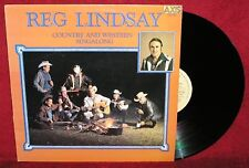 REG LINDSAY: COUNTRY AND WESTERN SINGALONG - 1964 CLASSIC/RARE AXIS REISSUE/EX++