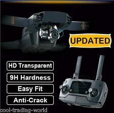 HD Tempered Glass protective Screen film DJI Mavic Pro Lens & Romote controller