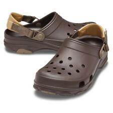 CROCS Classic all Terrain Clog Roomy Fit Unisex Sandal House Shoe 206340 Braun