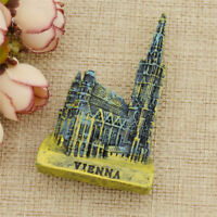 Vienna Resin Fridge Magnet Magnetic Sticker Accessories Home Decorations Gift