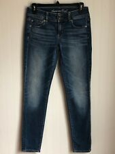 American Eagle Womens Jeans Size 2 R Stretch Skinny Stonewashed Classic 5 Pocket